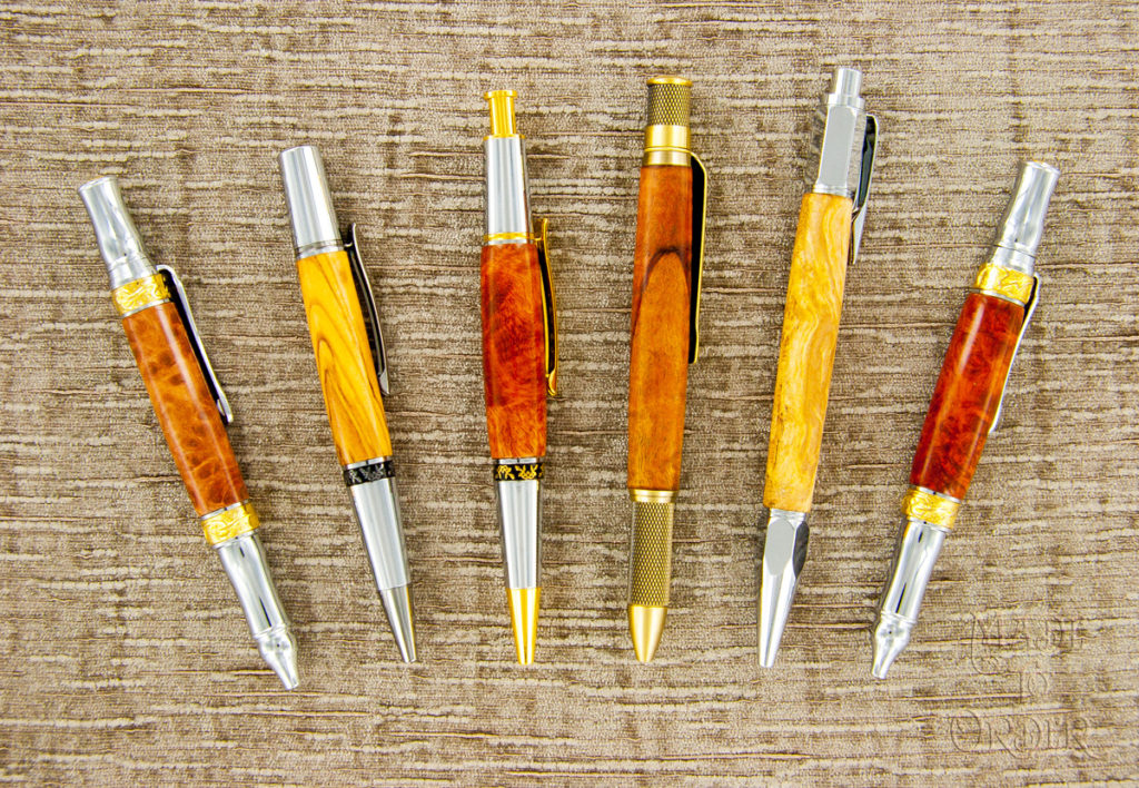 Hand made in USA pens at Made To Order